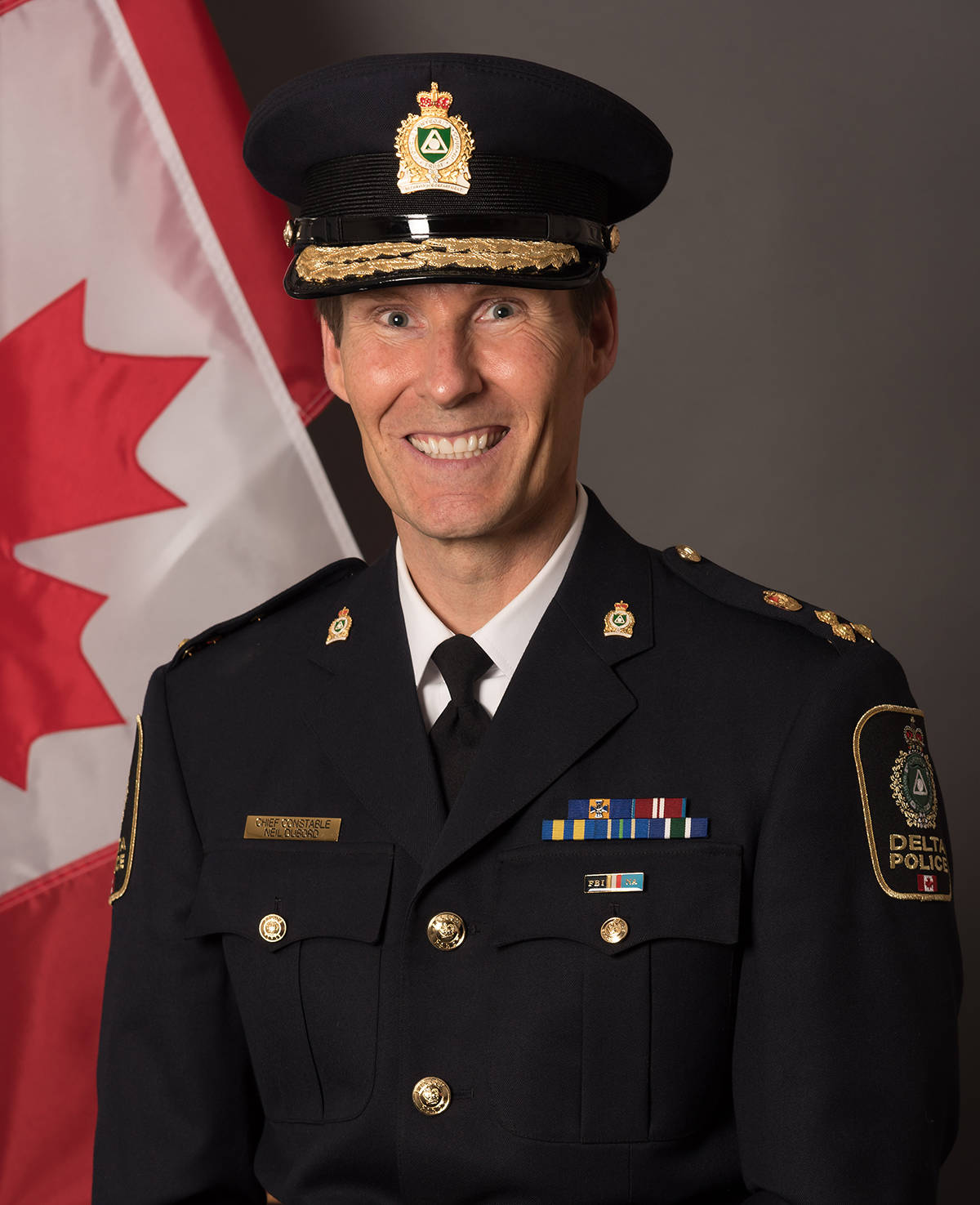 DPD Chief Constable Neil Dubord. (Delta Police Department photo)